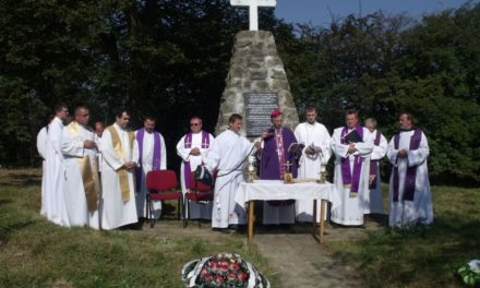 Commemorative Mass in the Uzhok Pass