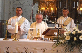 Golden Jubilee Mass in Bereghovo