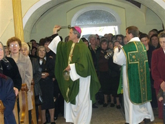 Blessing of Renovated Parish Church in Rativci