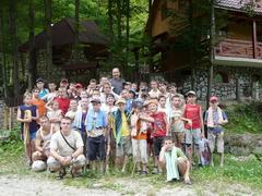 Camp for Altar Boys in Okruhla