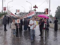 Cortège de Vie à Munkács – protestation oeucuménique contre avortements
