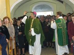 Une nouvelle bénédiction de l'église paroissiale de Rát
