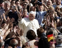 Les pèlerins du diocèse de Munkacs en audience du pape