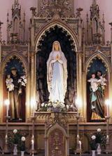 Benediction de Statue de Sainte-Marie à Beregszász