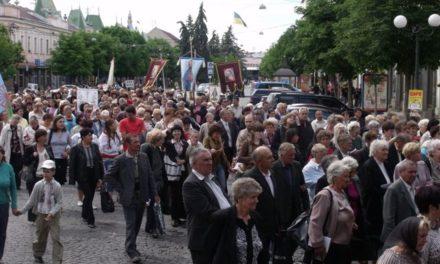 Journée eucharistique à Moukatchevo