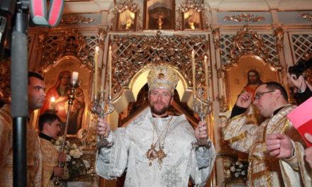 Ordination épiscopale de Nilus Luscsak à Oujgorode