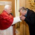 A Pápával találkozott Schmitt Pál