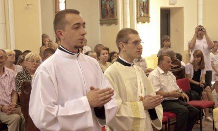 Pap- és diakónusszentelés Munkácson