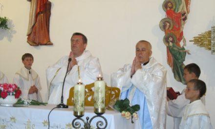 Zsarkovszki Péter atya ezüstmiséj