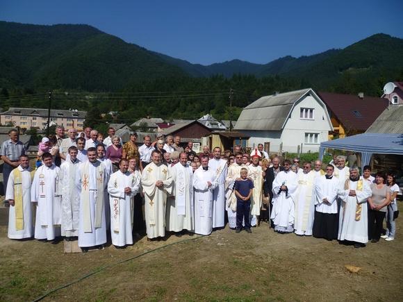 Templom épül Terebesfehérpatakon Szent Pio atya tiszteletére