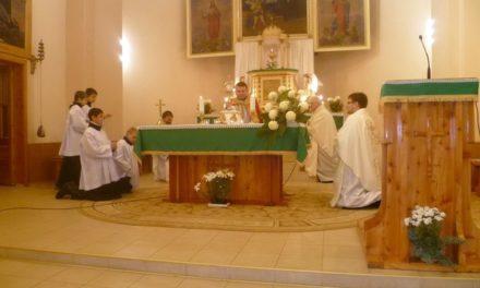Eucharisztikus nap Rahón