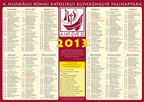 katolikus naptar 2013