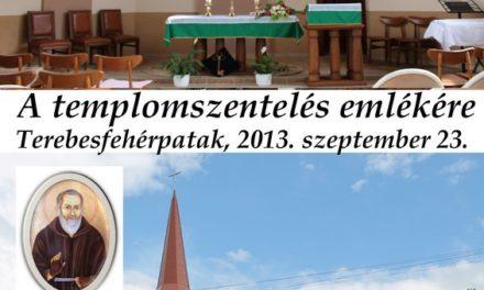 Újabb templommal gazdagodott a Munkácsi Egyházmegye
