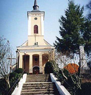 Szerednyei római katolikus templom