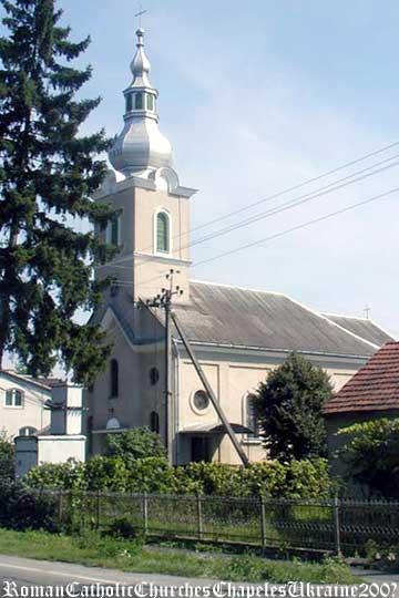 Téglási római katolikus templom