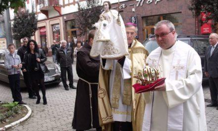 A szentkúti Szűzanya Ungváron járt