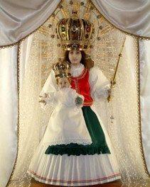 Ungvárra érkezik a szentkúti Szűz Mária kegyszobra