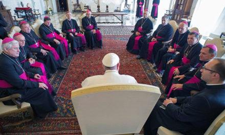 Ferenc pápa fogadta az ukrán püspököket