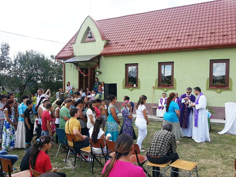 Cigánypasztoráció Kárpátalján 2014-15