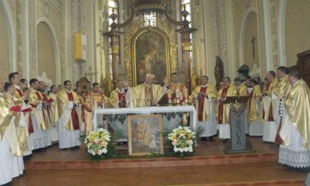 A Szent Márton év megnyitása a Munkácsi Egyházmegyében