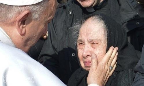Ferenc pápa üzenete a betegek XXIV. világnapjára