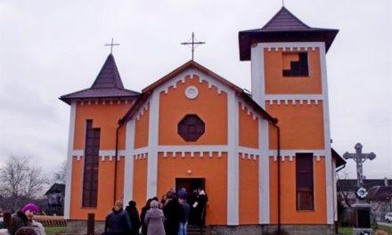 Tiszabökényi római katolikus templom