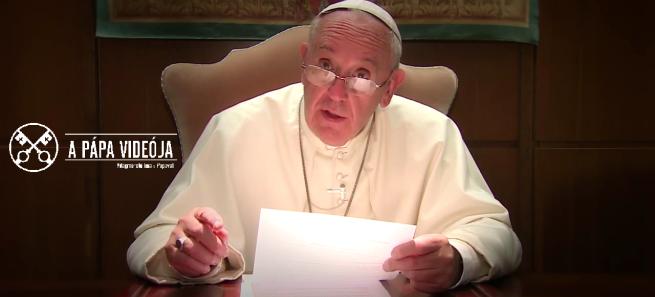 A pápa videója – 2016. március – A gyermekek és a nehézségek között élő családok