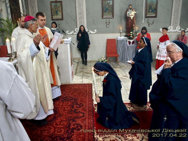 Örökfogadalom a pósaházi Szent József nővéreknél
