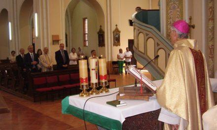 Épületmegáldás a püspökségen