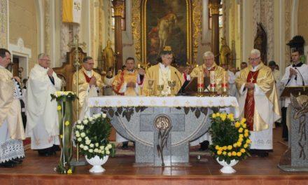 Egyházmegyei búcsú Munkácson