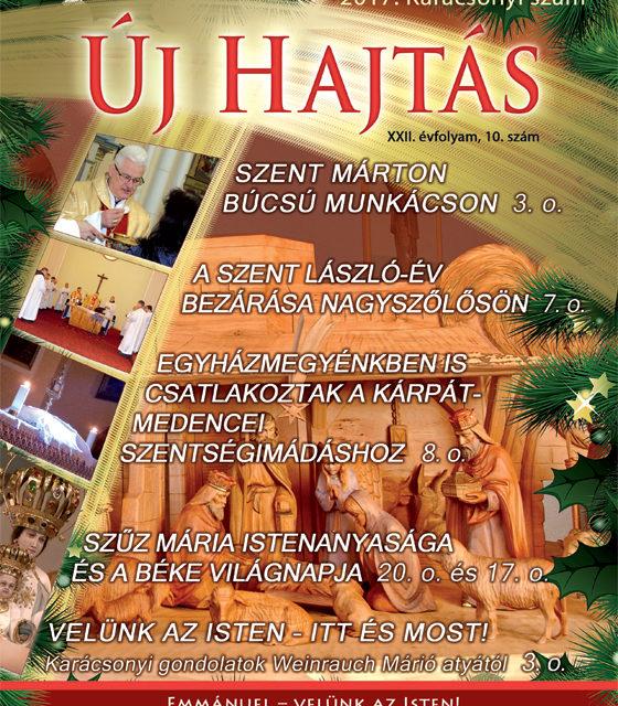 Az Új Hajtás karácsonyi száma online!