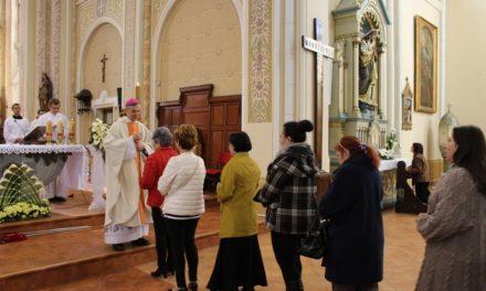 Kismamák, édesanyák és családjaik megáldása egyházmegyénkben