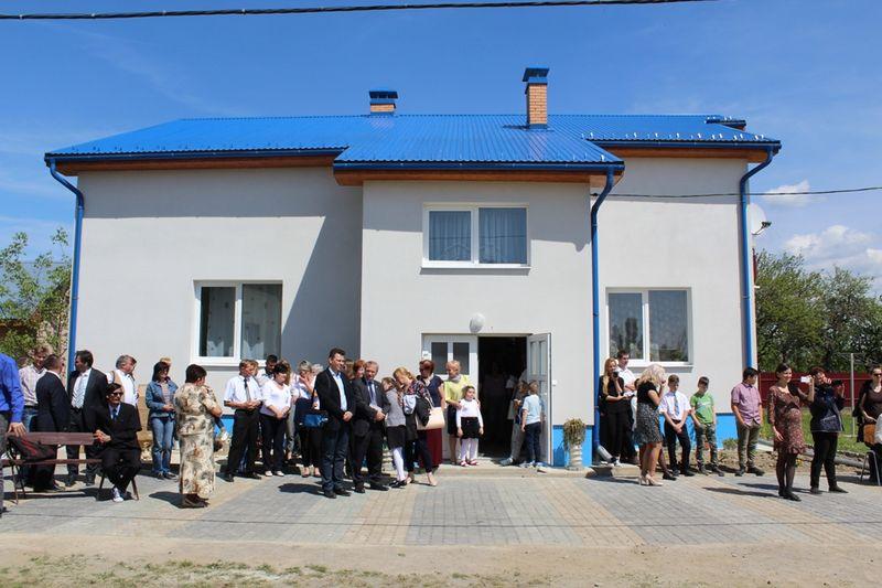 Újabb házzal bővült a ráti gyermekotthon