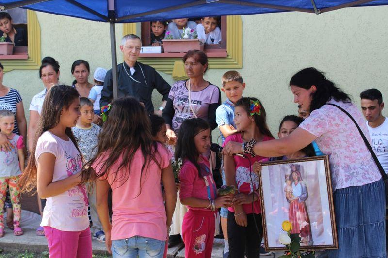 Katolikus cigánytalálkozó Beregújfaluban