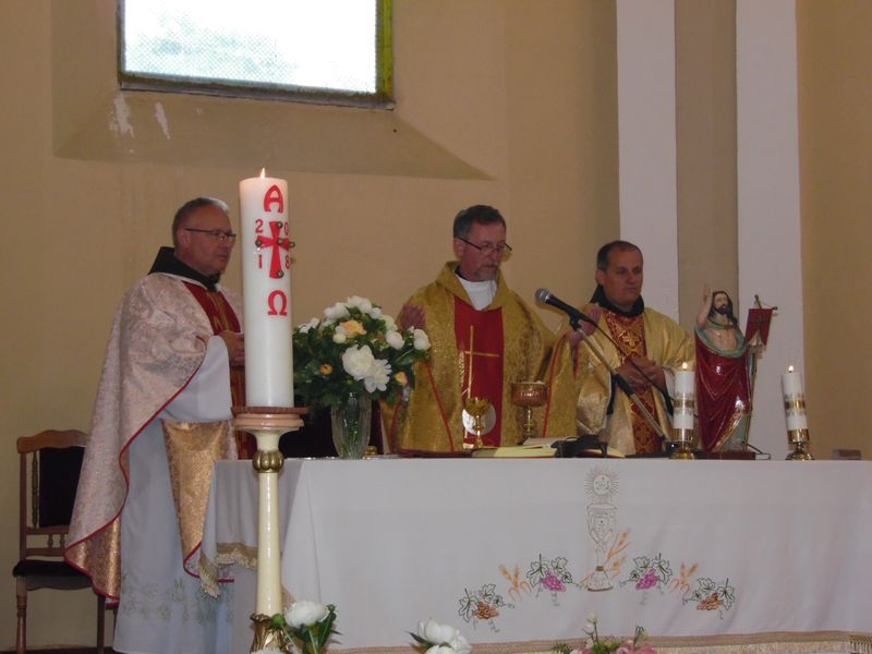 Mennybemenetel templombúcsú Nagyszőlősön
