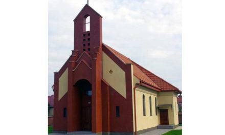 Munkács-Baraktelep. Szent Ferenc templom