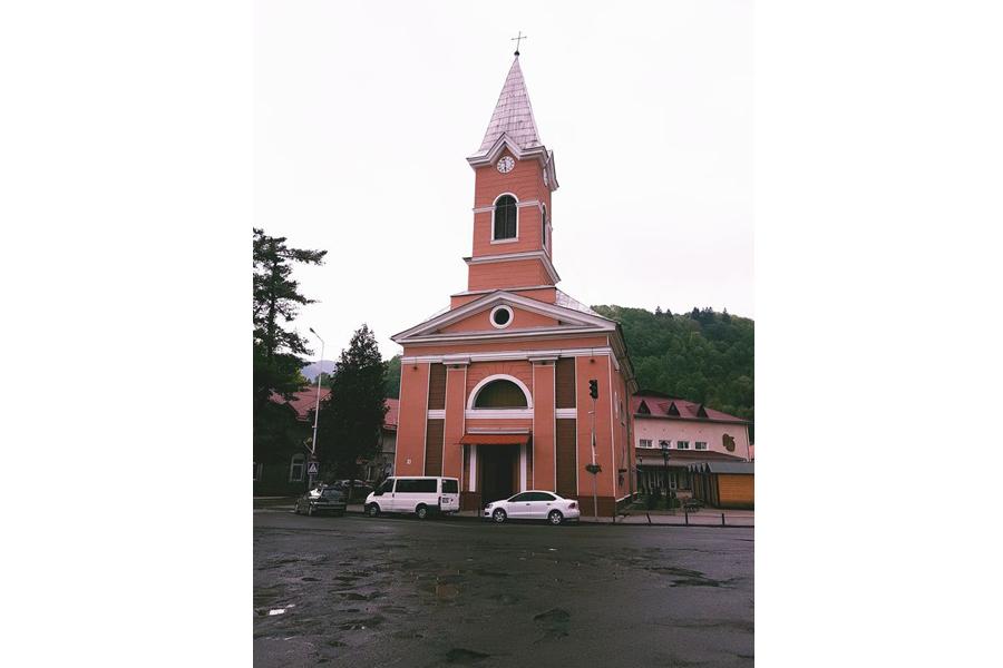 Rahó. Nepomuki Szent János templom
