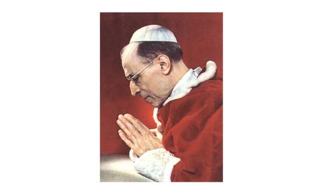 XII. Pius pápa imája a Lourdes-i Szent Szűzhöz