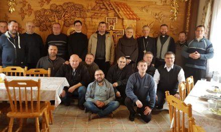 Magyar papi lelkigyakorlat Szinyákon