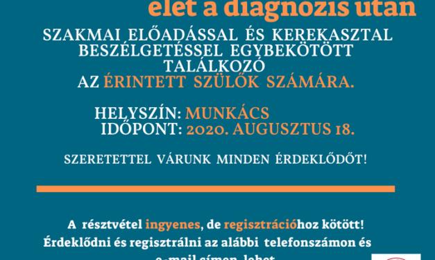 Magyar nyelvű szakmai előadás az Autism Transcarpathia Jótékonysági Alapítvány szervezésében
