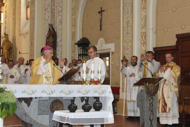 Olajszentelési szentmise a székesegyházban