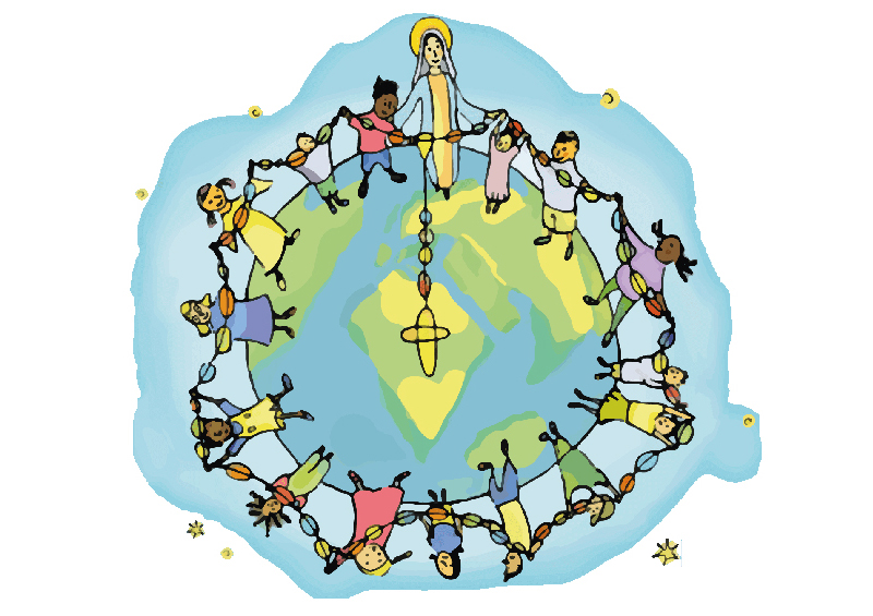 Egymillió gyermek imádkozza a rózsafüzért október 18-án a világ békéjéért és egységéért
