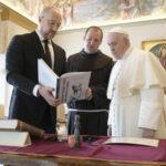 A pápa fogadta Ukrajna miniszterelnökét