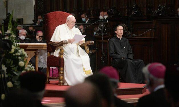 Príhovor pápeža Františka v Dóme sv. Martina