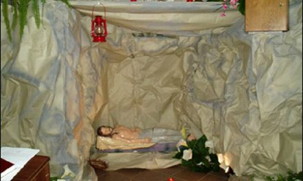Адорація біля Господнього гробу