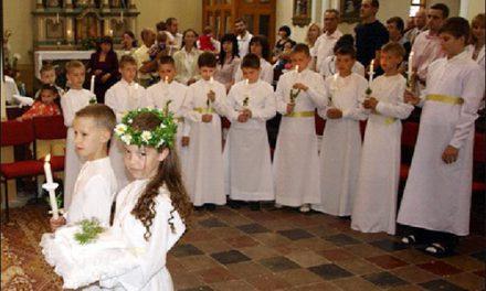Першопричасники церкви св. Мартина