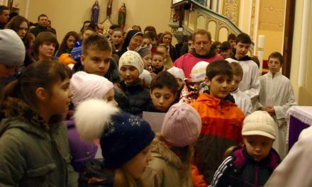 Дитяча Хресна Дорога в Кафедральному соборі св. Мартина