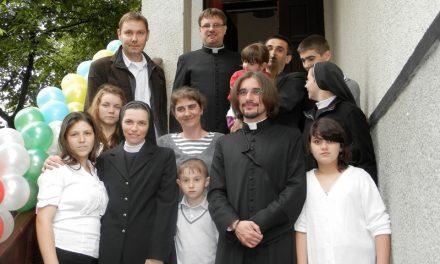 Відкриття дитячого будинку св.Вікентія де Поль у м. Рахів