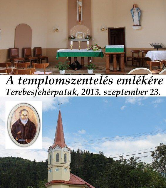 Посвята новозбудованого храму в Діловому Мукачівської Дієцезії.