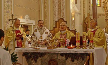 Архієпископ Антоніо Франко у Мукачеві